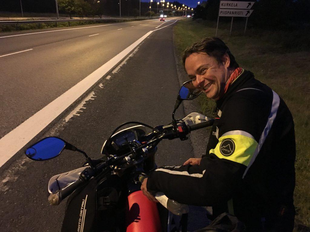 Europe motorcycle trip