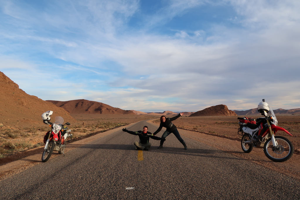 world travel by motorcyces