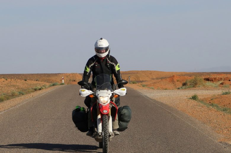 world trip by motorcycle
