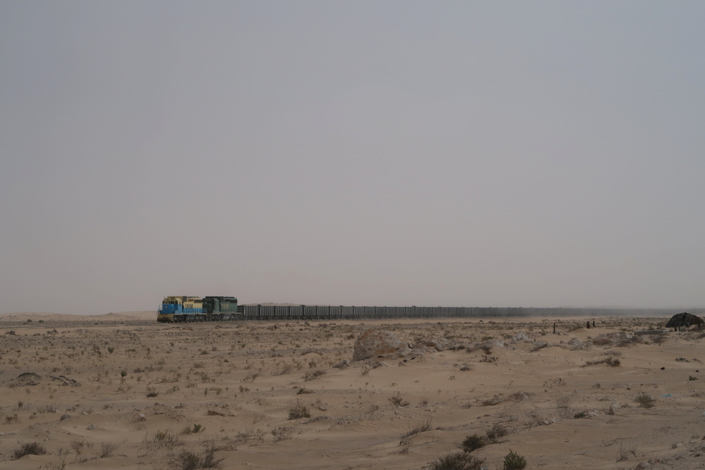 Iron Ore, longest train in africa