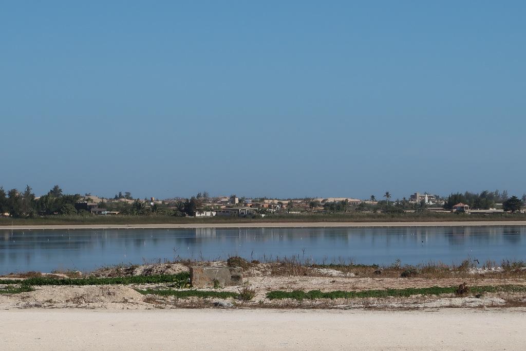 Lake Rose to see in Senegal