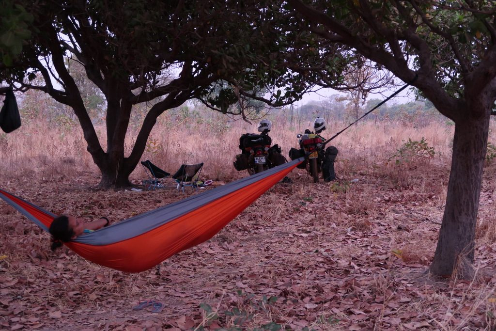 hammock wild camping guinea conakry