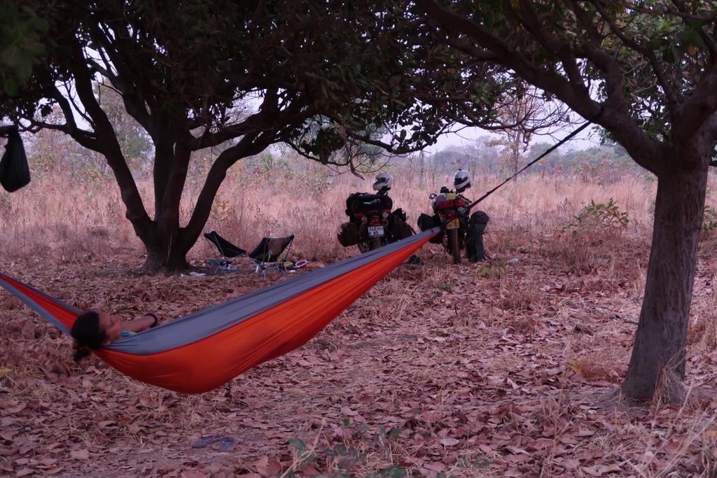 hammock wild camping guinea conakry