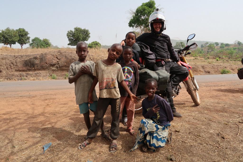 happy local kids guinea conakry