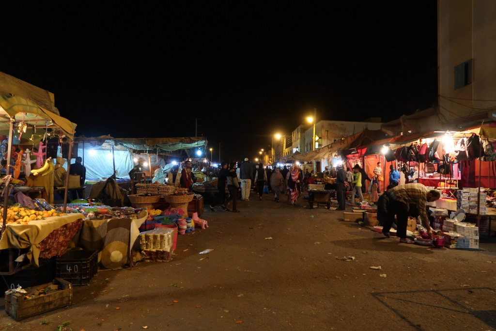 market bouydour western sahara