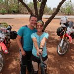 West Africa trip by motorcycle