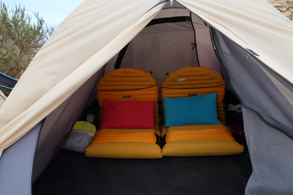 thermarest chair western sahara camping