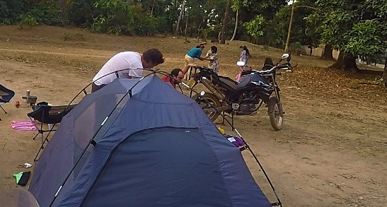 wild camping village guinea conakry