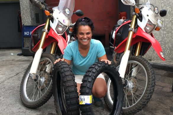 long distance tyres for motorcycle