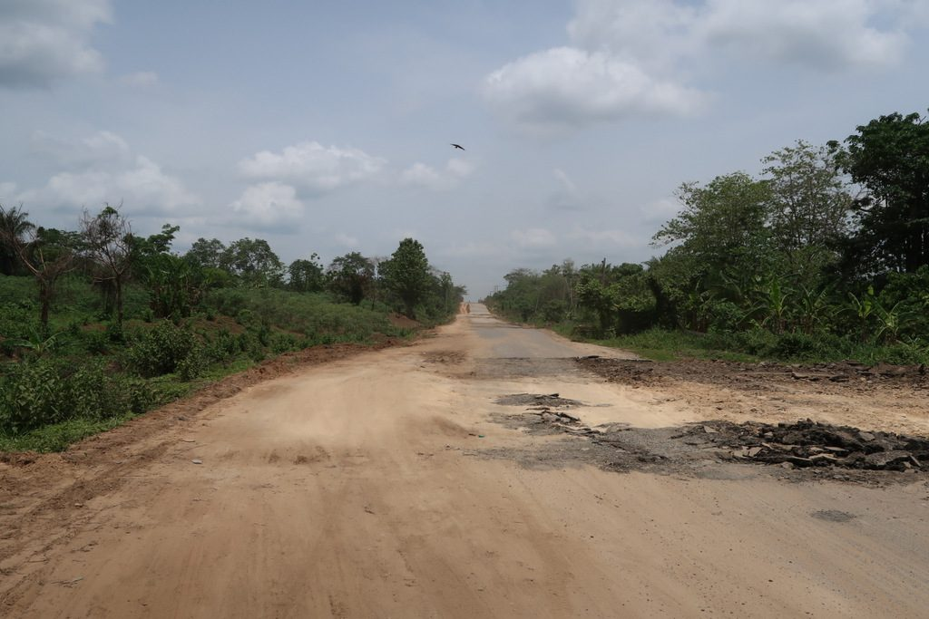 Nigeria roads are nightmare