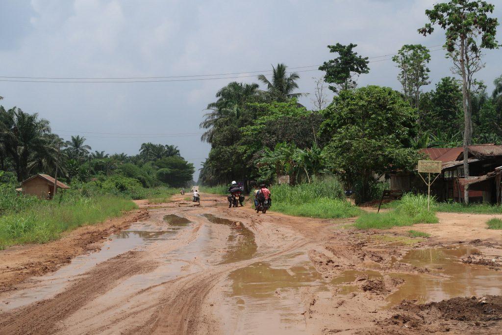 Rain season nigeria tar roads