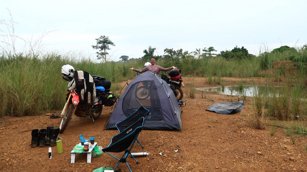 overlander stay in Gabon