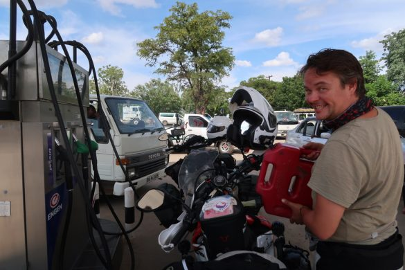 where can find petrol in botswana, maun, nata, orapa, kasane