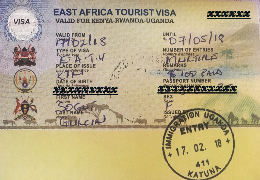 Travel East African countries with one visa