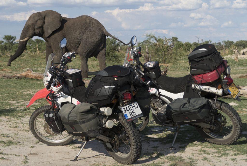 Sw moto, dakar bag, rear bags, tail bags, side bags
