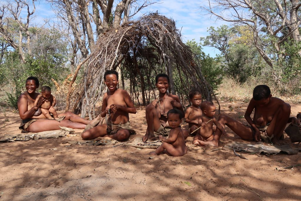 San people Namibia