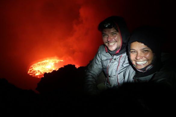 Nyiragongo Volcano: World's largest lava lake