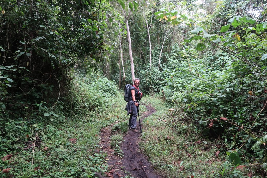 climb most dangerous volcano : Nyiragongo volcano