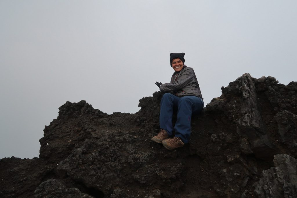 Nyiragongo Volcano lava lake
