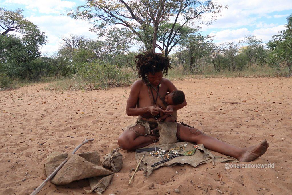 Tribes of Namibia : Bushmen Tribe | San people