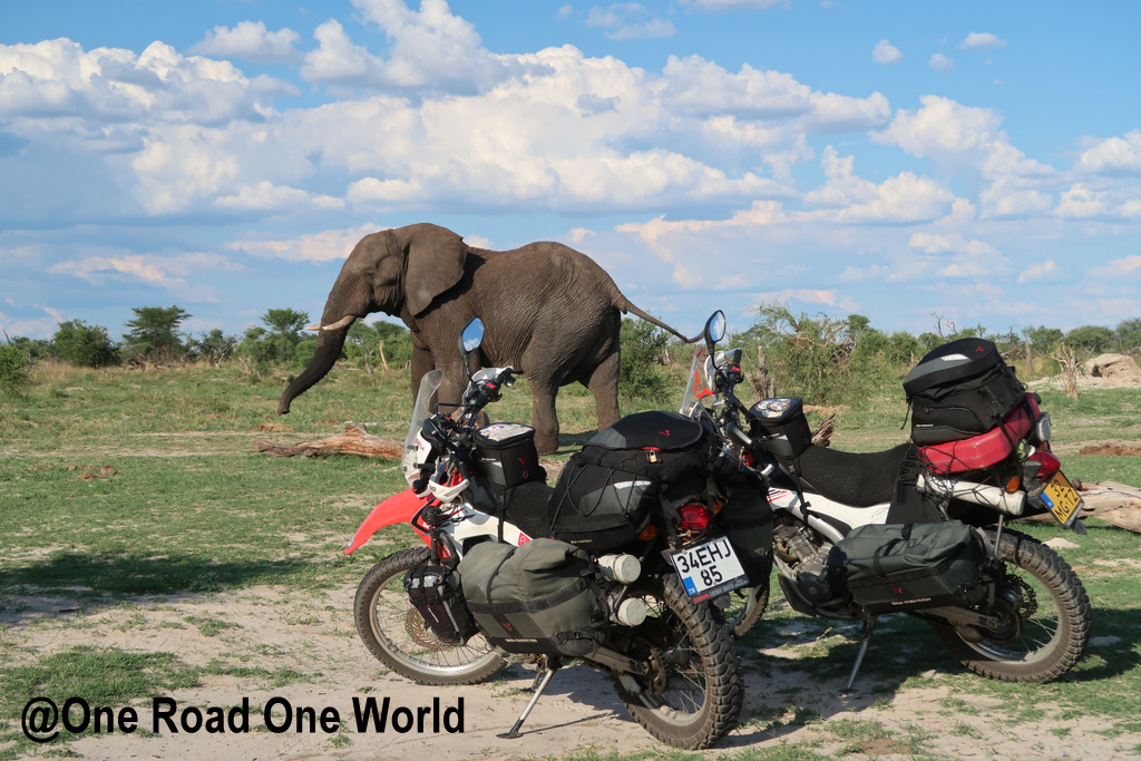 Road trip Africa by motorcycle